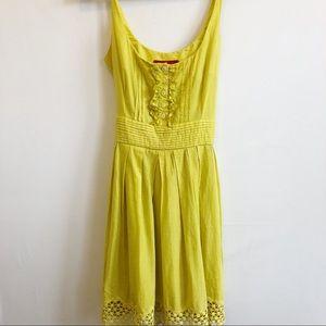Jack B.B. Dakota Dress Yellow Size M